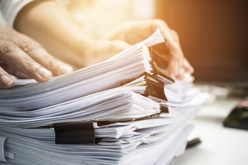 Paperwork and UK Non-Resident tax